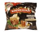 """""""Кириешки""""Сухарики ржаные соленые """"холодец с хреном с горчичным соусом"""" ,60 гр."""