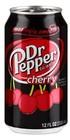 DR.PEPPER,  Cherry & vanilia газированный напиток 0,33 л.