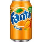 Fanta MANGO,  газированный напиток 0,33 л.
