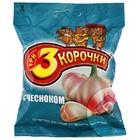 """Сухарики """"3 Корочки"""" ржаные 40г Чеснок"""