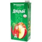 Сок Добрый деревенские яблочки 2л. т/пак