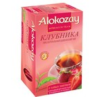 """Чай """"Alokozay"""" черный со вкусом клубники, 25 пакетиков"""