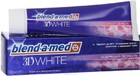 """Зубная паста """"Blend-a-med''  3D WHITE бодрящая свежесть, 100 мл"""