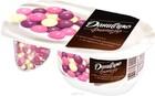 """Йогурт с хрустящими шариками с ягодным вкусом """"Даниссимо Фантазия"""" 105 гр"""