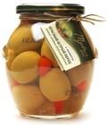 Оливки зеленые с перцем Пири-Пири Mylos plus 360 гр