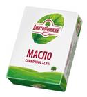 Масло сливочное Крестьянское 72,5% 0,18 кг Дмитрогорский продукт
