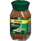 Кофе Jacobs Monarch 190 гр натур.раств. стекло