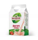 """Йогурт питьевой Клубника  1.5% """"Дмитрогорский продукт"""",0,45 кг"""