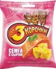 """Сухарики ржаные """"сыр и семга"""" """"3 корочки"""" 40 гр."""