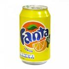 Fanta lemon ,  газированный напиток 0,33 л.