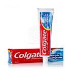 Зубная паста COLGATE КРЕПКИЕ ЗУБЫ СВЕЖЕЕ ДЫХАНИЕ. С ФТОРОМ И КАЛЬЦИЕМ.