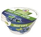 Йогурт с наполнителем черника 10% 160 гр Агрокомплекс