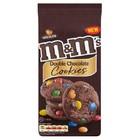 M&M's double cookies  овсяное шоколадное печенье с  шоколадными драже M&M`s.180 гр