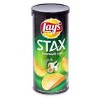 Чипсы Lay`s STAX, зеленый лук,110 гр
