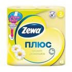 Туалетная бумага Zewa плюс, 2 слоя 4 рул. аромат ромашки