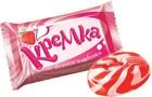 Карамель Кремка со вкусом клубники и сливок 1 кг