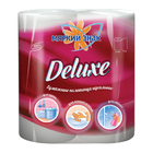 МЯГКИЙ ЗНАК Бумажные полотенца Deluxe 2 слоя, 2 рулона