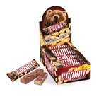 Шоколадный батончик Спринт с жареным арахисом и карамелью 50 гр