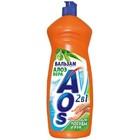 Средство для мытья посуды AOS (Аос) Алоэ Вера, 1000 гр