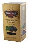 Чай МАЙСКИЙ смородина с мятой 25 пак. (золото)