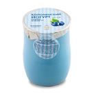 Коломенский йогурт питьевой из цельного молока 3,4 %-4,0 % черника 450г БЗМЖ в керамике