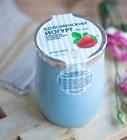 Коломенский йогурт питьевой из цельного молока 3,4 %-4,0 % клубника 450г БЗМЖ в керамике