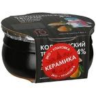 Коломенский творог груша 4% 180г в керамике БЗМЖ