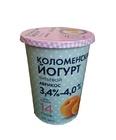Коломенский питьевой йогурт абрикос 500г БЗМЖ бумажный пакет