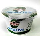 Сметана 15% Дмитрогорский продукт 0,200 кг