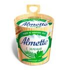 """Творожный сыр """"Альметте"""" с зеленью ,150 гр"""