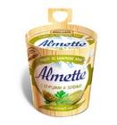 """Творожный сыр """"Альметте"""" с огурцами и зеленью ,150 гр"""
