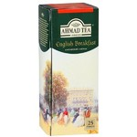 "Чай черный Английский завтрак ""Ahmad Tea English Breakfast Tea/Ахмад Ти Инглиш Брекфест Ти"" 25 пакетиков"
