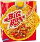 Лапша быстрого приготовления Биг-Бон (готовый обед с тушеной говядиной,зеленью и пряностями) 110 гр