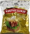 """""""Кириешки""""Сухарики ржаные соленые """"холодец с хреном"""" 100 гр."""