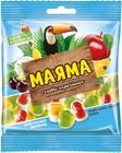 "Мармелад жевательный ""Маяма"",со вкусом банана,яблока,вишни и сливок,Яшкино,170 гр."