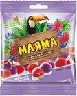 """Мармелад жевательный """"Маяма"""",с начинкой,со вкусом малины и черники,Яшкино,170 гр."""