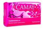 Туалетное мыло CAMAY creme and strawberry аромат клубники со сливками 85г