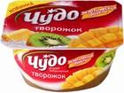 """Десерт творожный """"ЧУДО Воздушный творожок"""" ананас-киви,100 гр"""