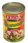 Шампиньоны резанные  маринованные ЕКО 400 гр