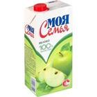 Сок яблочный Моя Семья 0,95 л