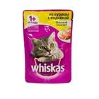 Вискас корм для кошек паштет из курицы с индейкой, 1+, 85г