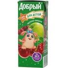 """Сок , яблоко-вишня,для детей 0,2.""""Добрый"""""""