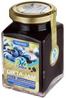 Джем низкокалорийный  Dieta-Jam,черника ,230 гр