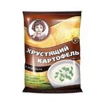 """Чипсы """" Хрустящий картофель """" со вкусом сметаны и лука, 40г"""