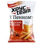 Сухарики Хрустим к Пенному со вкусом холодца с хреном 90 гр.