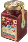 Джем низкокалорийный  Dieta-Jam, клюква ,230 гр