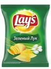 Чипсы Лейз 80 гр зелёный Лук