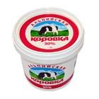 """Сметана """"Альпийская коровка 30%"""" вес. (за 1 кг.)"""