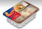 Биточки с сыром из мяса цыплят-бройлеров охлажденные МИРАТОРГ 350 гр