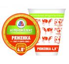 Ряженка 4% 0,4л Агрокомплекс